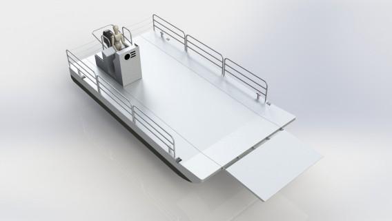 Barge 750 démontable