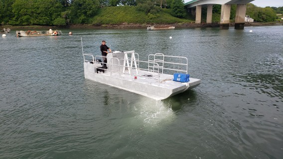 Barge 650 puits