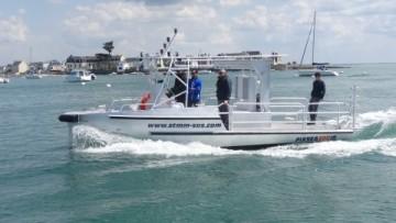 Bateaux de travaux maritimes