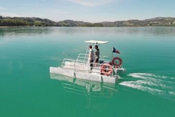 Bateaux à passagers électriques