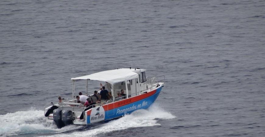 The Bord à Bord 10.40 boats in Corsica island